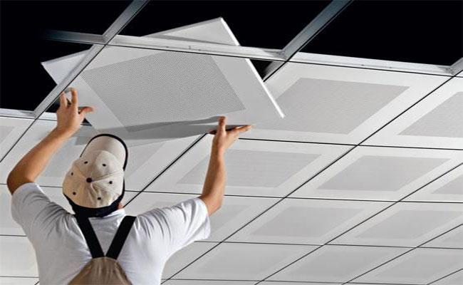 طراحی و اجرای سقف کاذب - Design and implementation of false ceilings