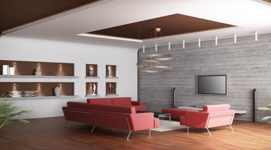 سقف کاذب کناف - Design and implementation of false ceilings