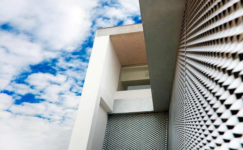 نمای استرچ متال ساختمان - طراحی و اجرای انواع نمای فلزی