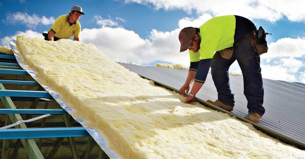 building-shell-insulation - ایزولاسیون و کانال کشی تاسیسات صنعتی و مخازن