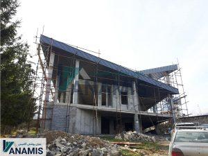پروژه ساختمان کلاردشت انتهای مدرس
